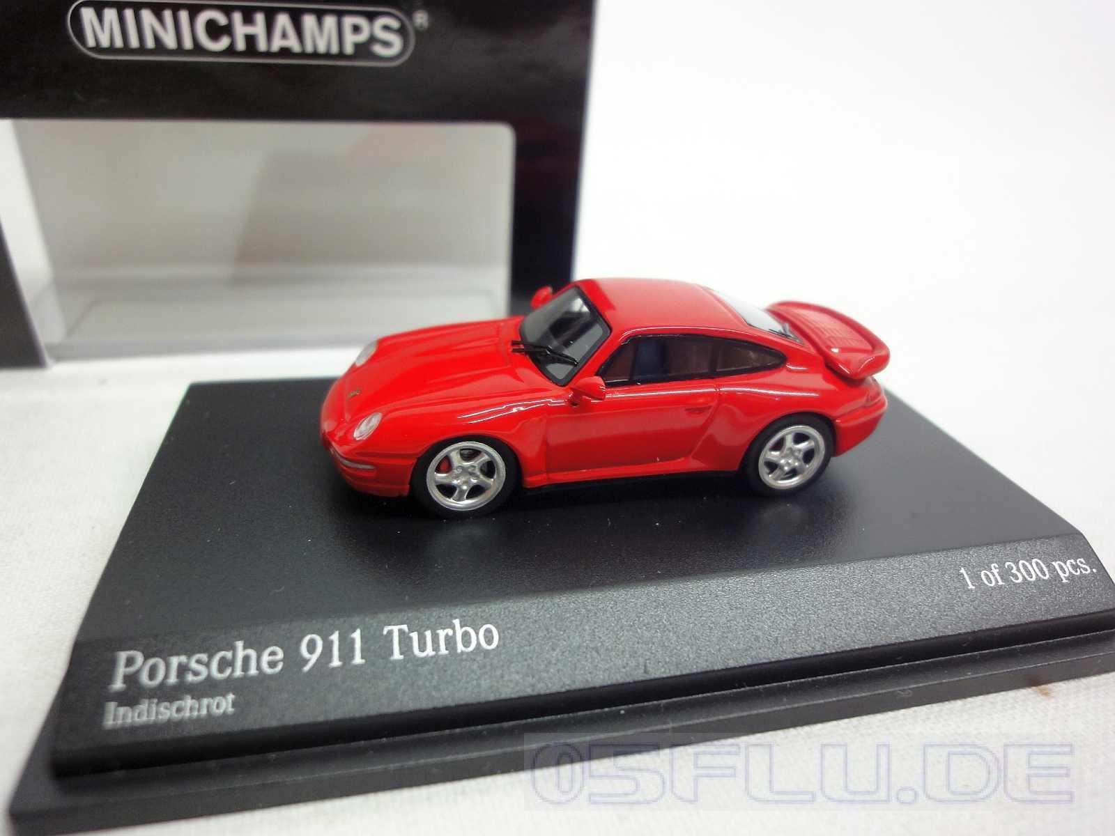 minichamps 1 87 877069202 porsche 911 993 turbo 1995 red nur 1 tag ebay. Black Bedroom Furniture Sets. Home Design Ideas