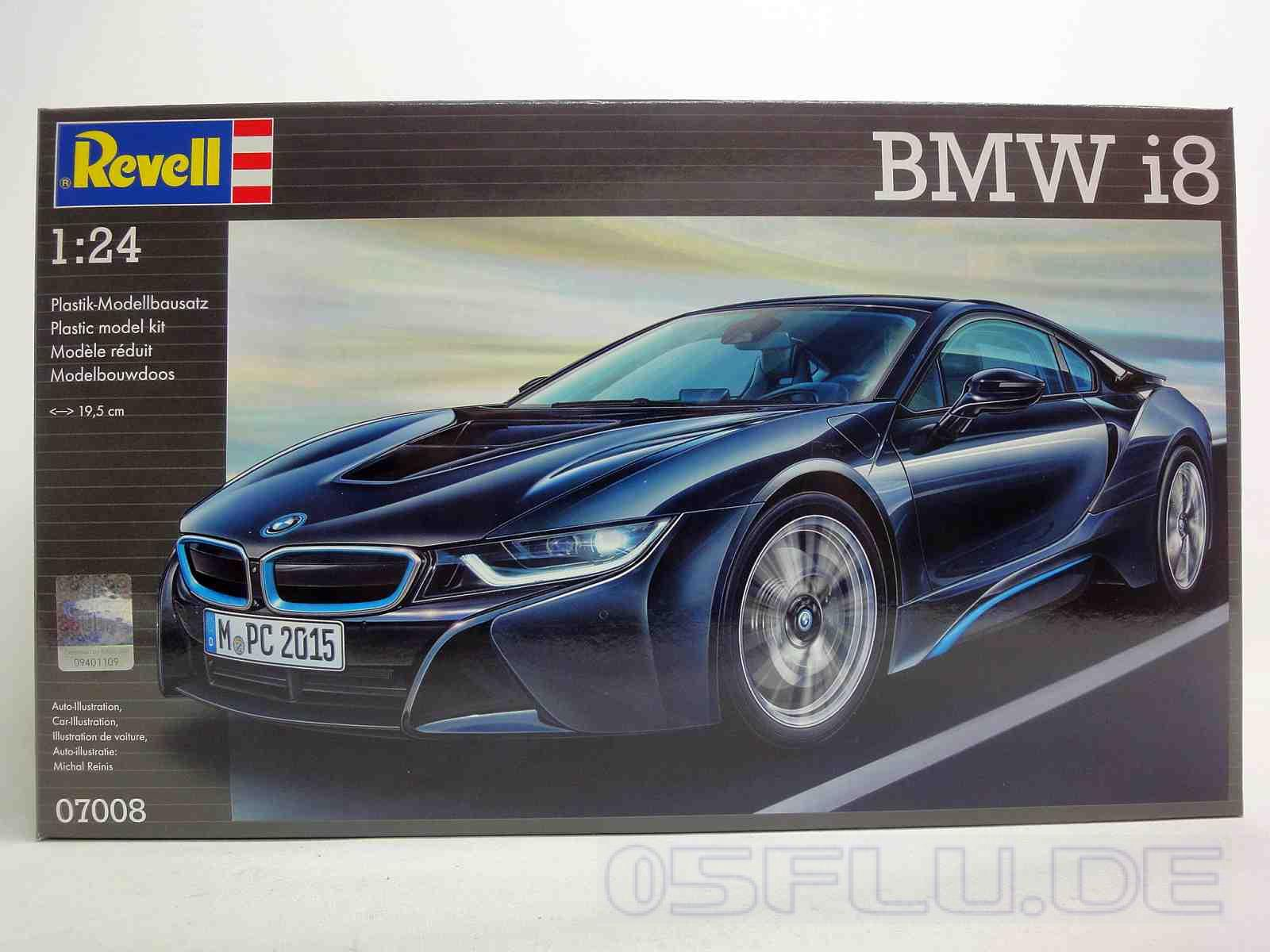 revell 1 24 07008 bmw i8 neu ebay. Black Bedroom Furniture Sets. Home Design Ideas