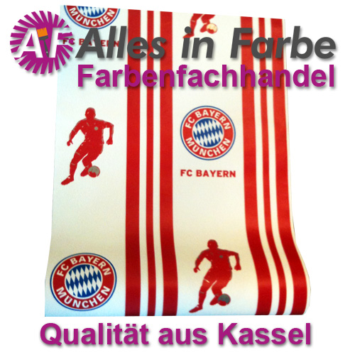 fc bayern tapete ebay. Black Bedroom Furniture Sets. Home Design Ideas