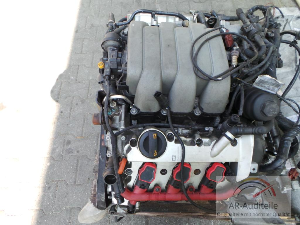 audi a6 4f motor engine komplett auk 3 2 fsi v6 188kw. Black Bedroom Furniture Sets. Home Design Ideas