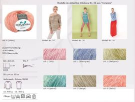 Schulana Bändchengarn Coramie Fb.5554 turquoise wool 50g (15.80 ? per 100g)