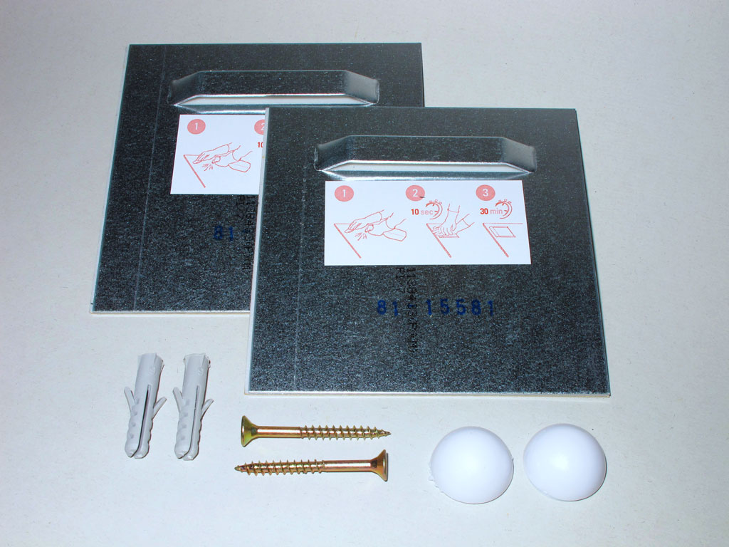 acrylglas aludibond montageset zur aufh ngung befestigung ebay. Black Bedroom Furniture Sets. Home Design Ideas