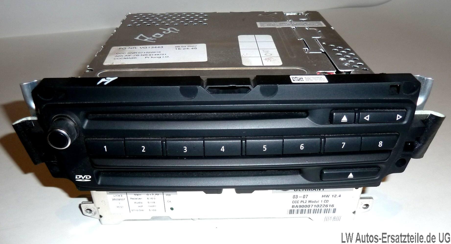 bmw 1er 3er e91 e90 dvd navi rechner navigation professi. Black Bedroom Furniture Sets. Home Design Ideas