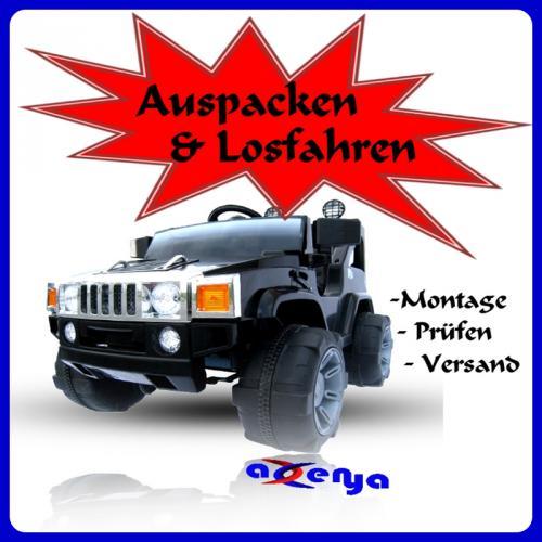 elektroauto hummer jeep a30 mit 2 x 35 watt motor ebay. Black Bedroom Furniture Sets. Home Design Ideas
