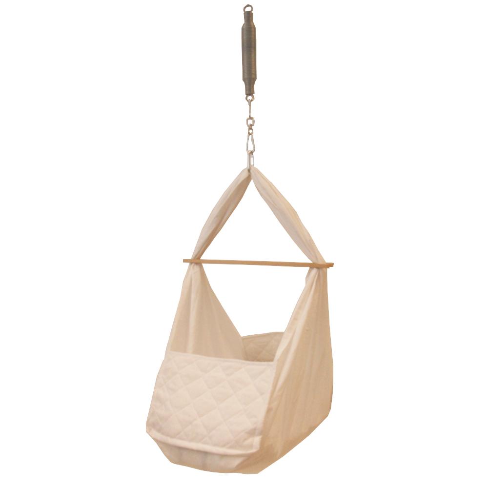 federwiege babyh ngematte babywiege ebay. Black Bedroom Furniture Sets. Home Design Ideas