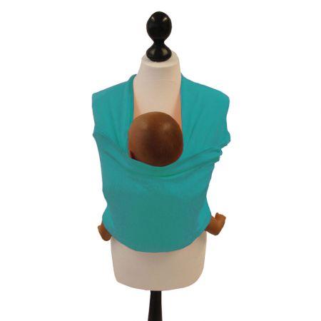 Tragetuch Tragehilfe Babytrage Bauchtrage aus elastischem Jersey