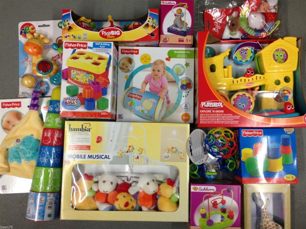 Baby spielzeug Überraschungs paket neu teile simba