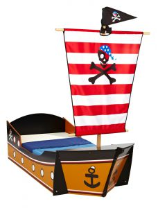 kinderbett pirat piratenbett schiff piratenschiff kinder bett seer uber 140x70 ebay. Black Bedroom Furniture Sets. Home Design Ideas