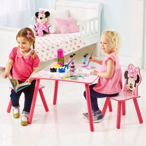 spieltisch kindertisch kinder m dchen tisch rosa minnie mouse kinderzimmertisch. Black Bedroom Furniture Sets. Home Design Ideas