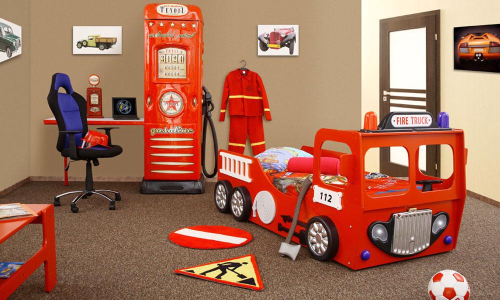 Kinderbett feuerwehr  Bett Feuerwehr - Badmöbel 2017