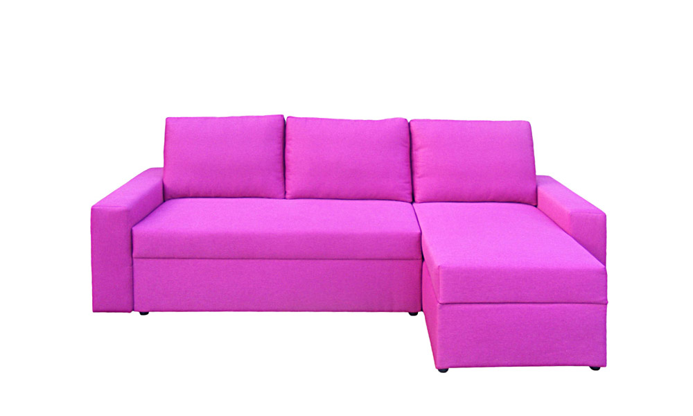 ecksofa mit schlaffunktion bettkasten pink schlafsofa sofa. Black Bedroom Furniture Sets. Home Design Ideas