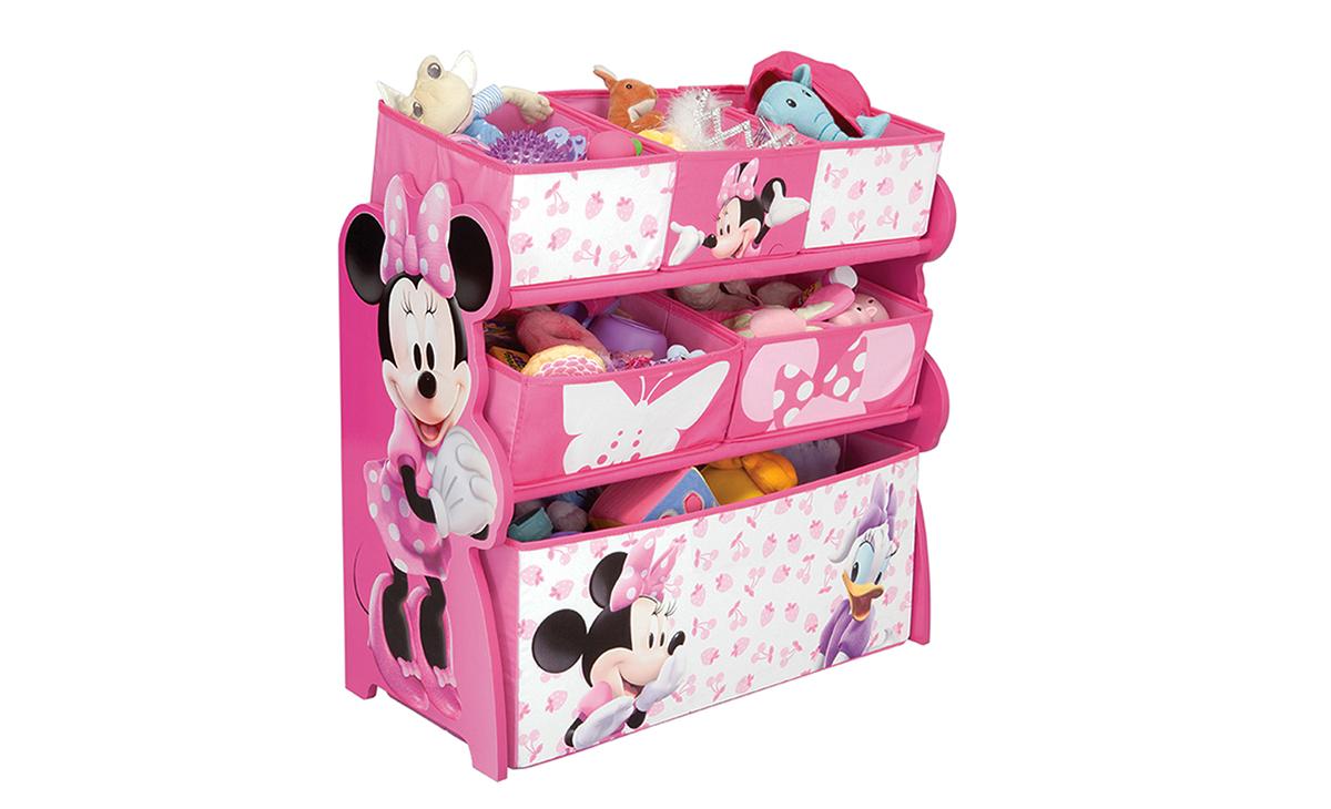 kinderregal minnie mouse spielzeugkiste spielzeugbox regal kinderm bel. Black Bedroom Furniture Sets. Home Design Ideas