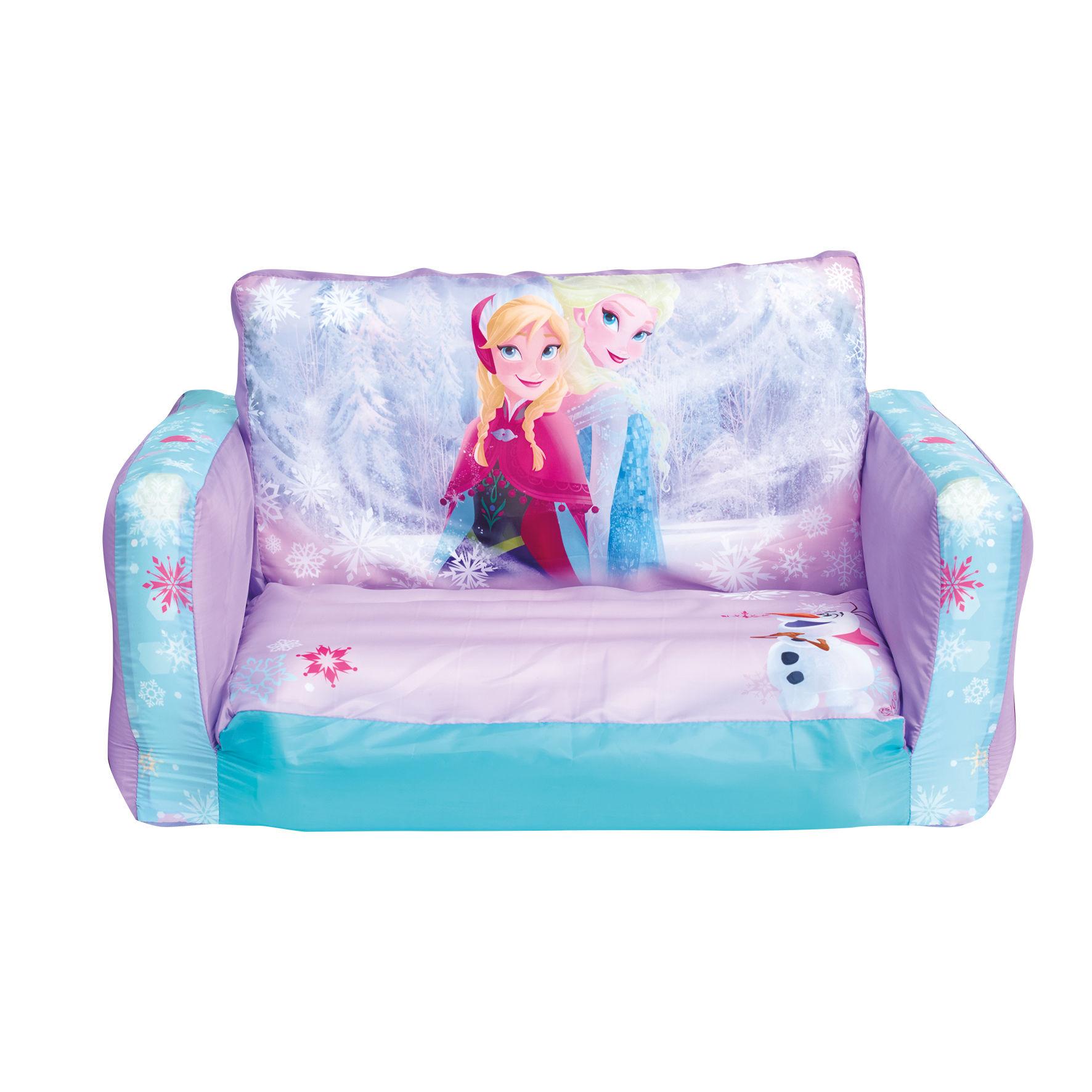 Disney eisk nigin frozen aufblasbares kindersofa couch for Jugendzimmer couch bett