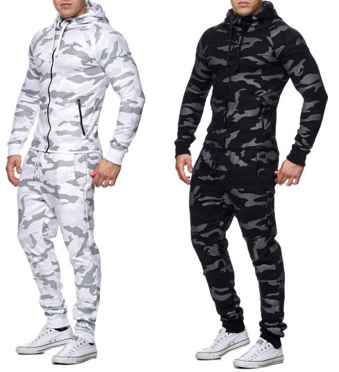 Men S Camouflage Army Jogging Suit Pants Jacket Trackies