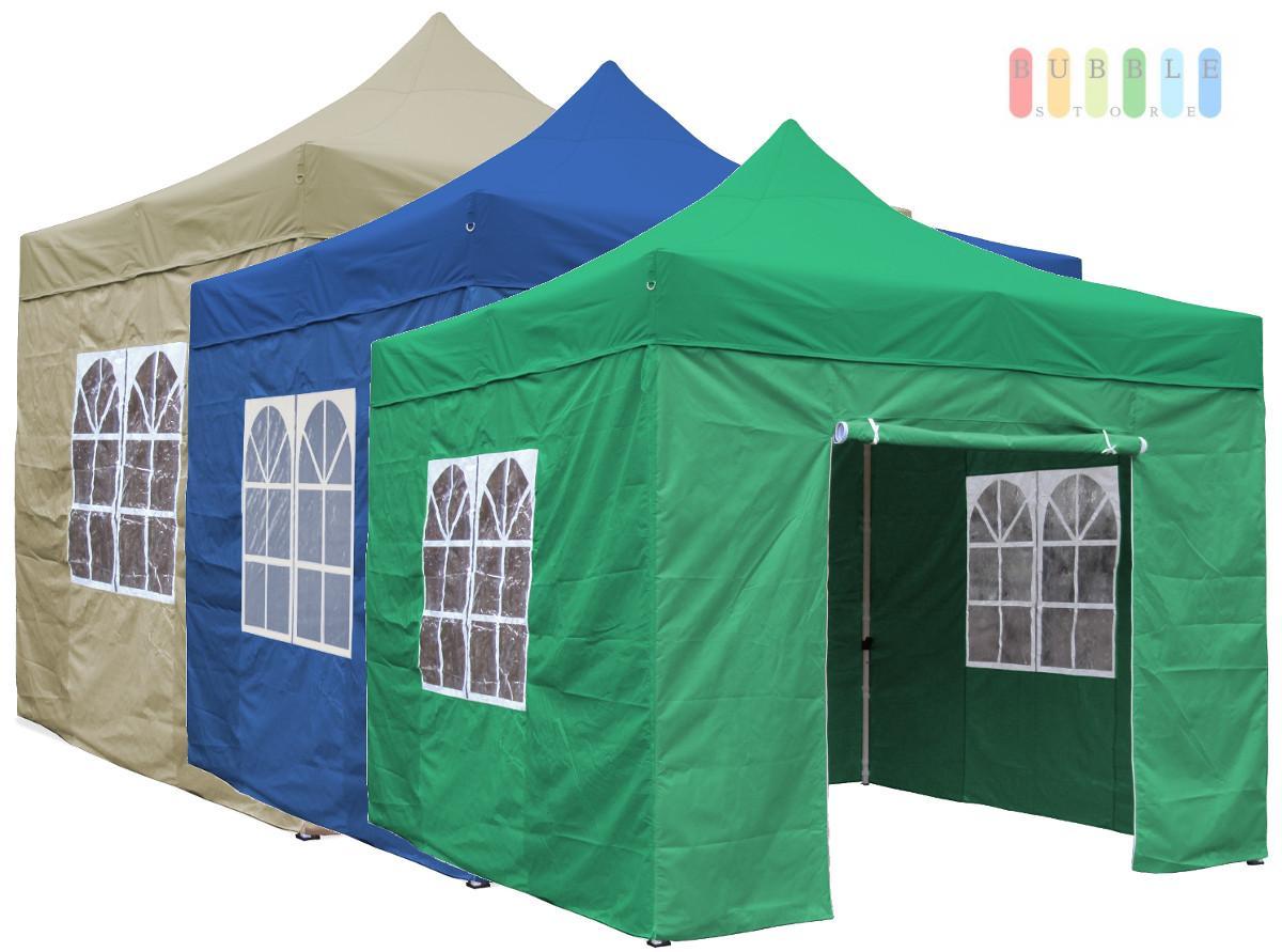 3x3 m faltpavillon gartenzelt faltzelt partyzelt pavillion bierzelt weinzelt pvc ebay. Black Bedroom Furniture Sets. Home Design Ideas