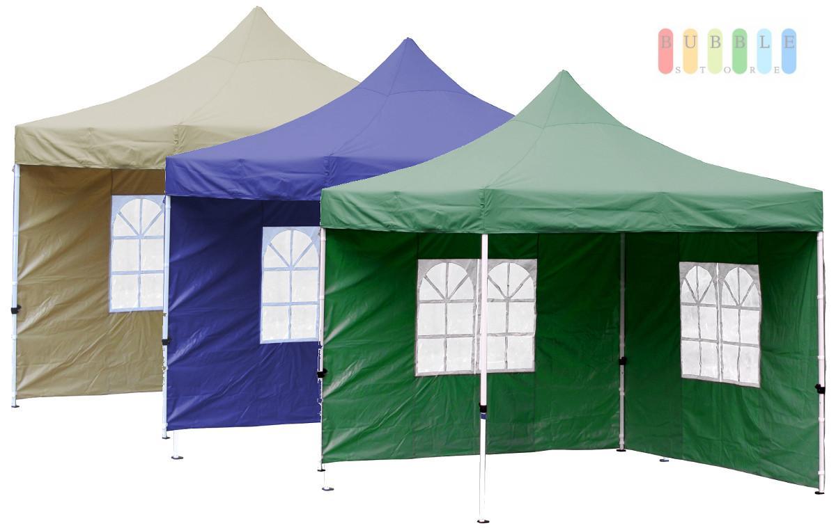 3x3 m klappavillon gartenzelt faltzelt partyzelt pavillion bierzelt weinzelt pvc ebay. Black Bedroom Furniture Sets. Home Design Ideas