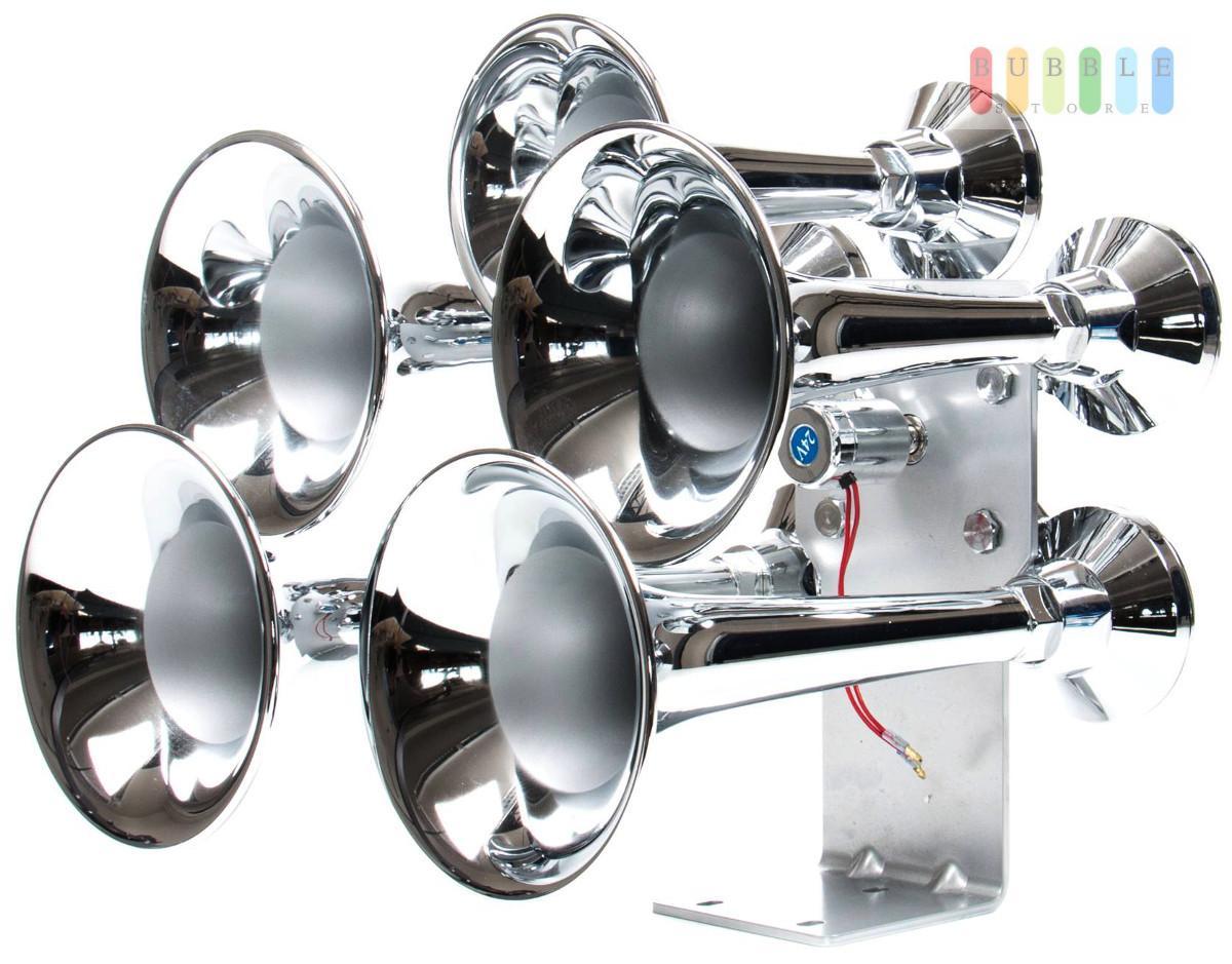 5 klang druckluftfanfare fanfare horn hupe lufthorn. Black Bedroom Furniture Sets. Home Design Ideas