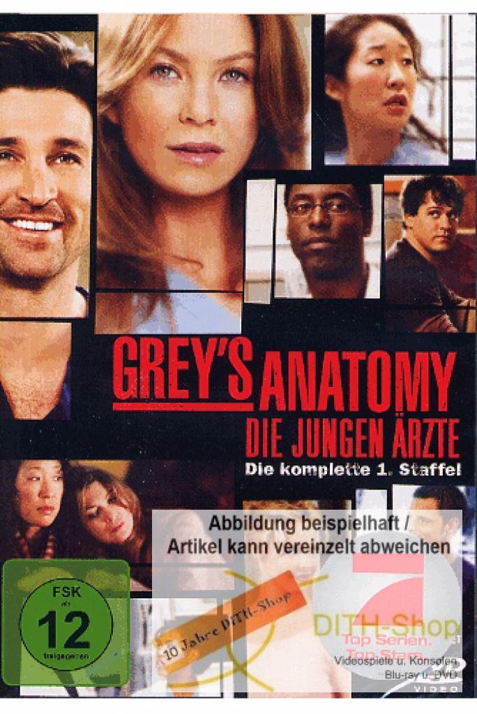 Greys Anatomy - Die Komplette 1. Staffel (DVD Video)