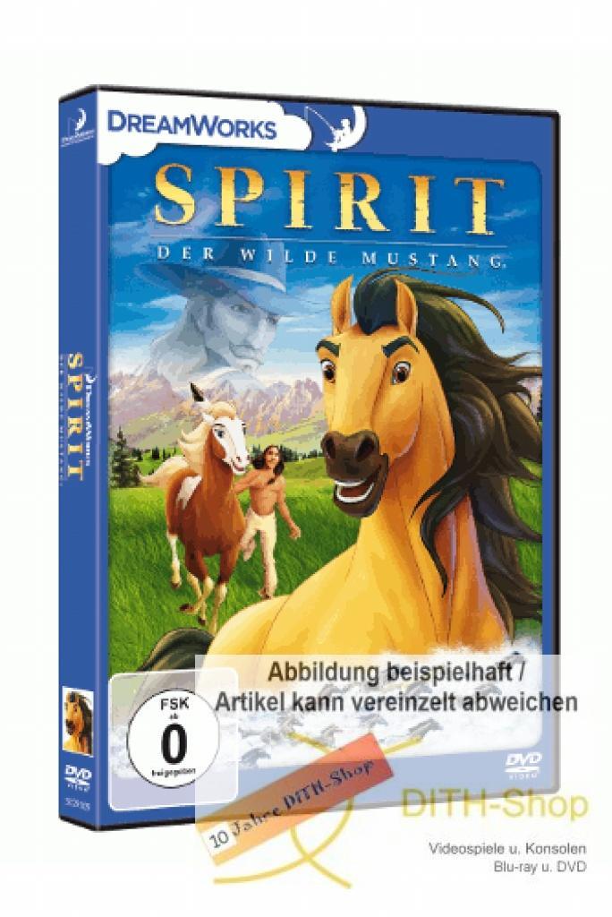 spirit der wilde mustang dvd video 4047552000313  ebay