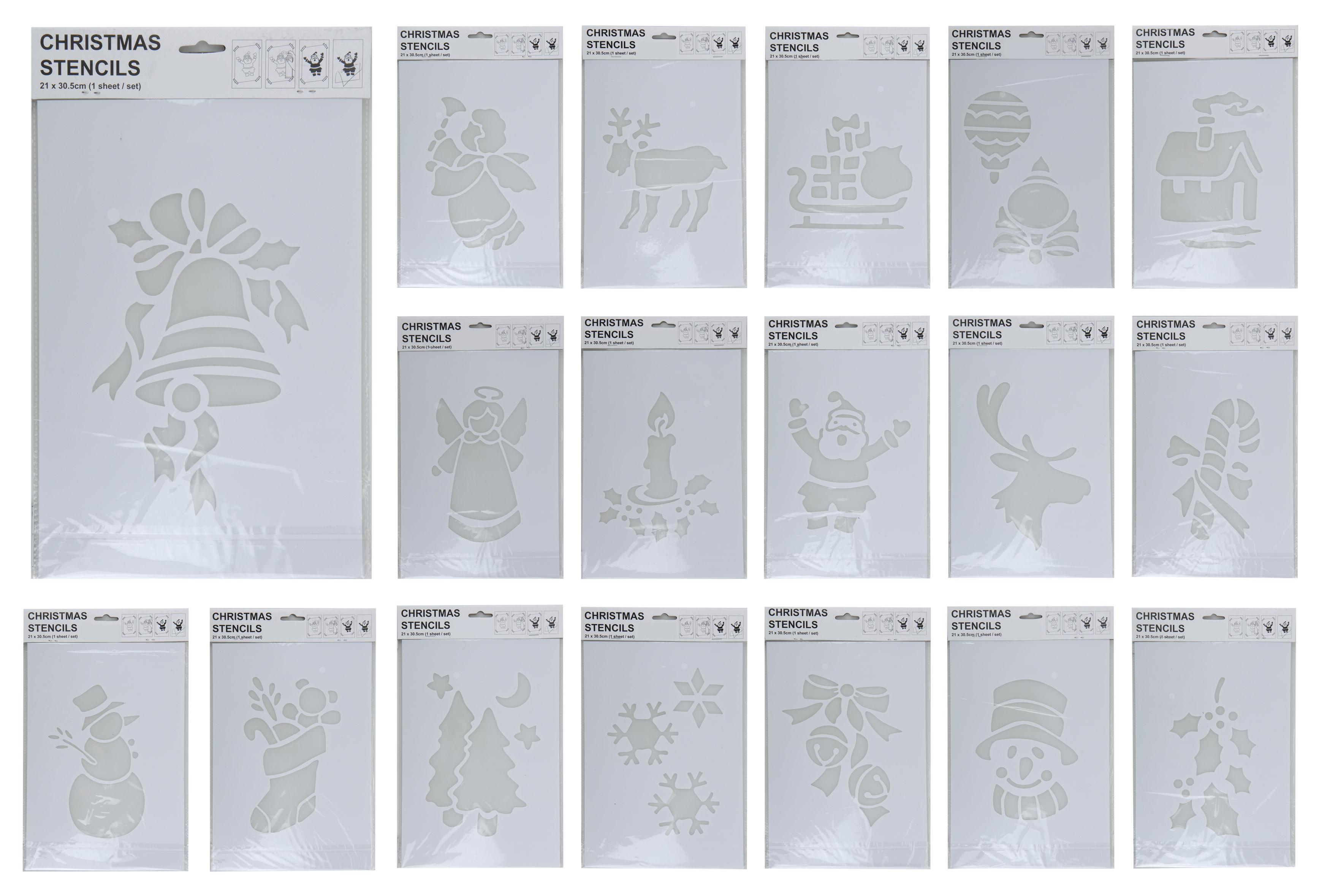 18 spr hschnee schablonen fensterschablone schablone. Black Bedroom Furniture Sets. Home Design Ideas