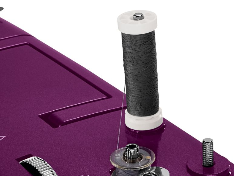 SILVERCREST® Nähmaschine SNMD 33 A1 violettmetallic  B