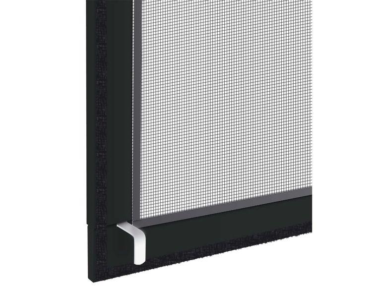 powerfix alu insektenschutz fenster 130 x 150 cm. Black Bedroom Furniture Sets. Home Design Ideas