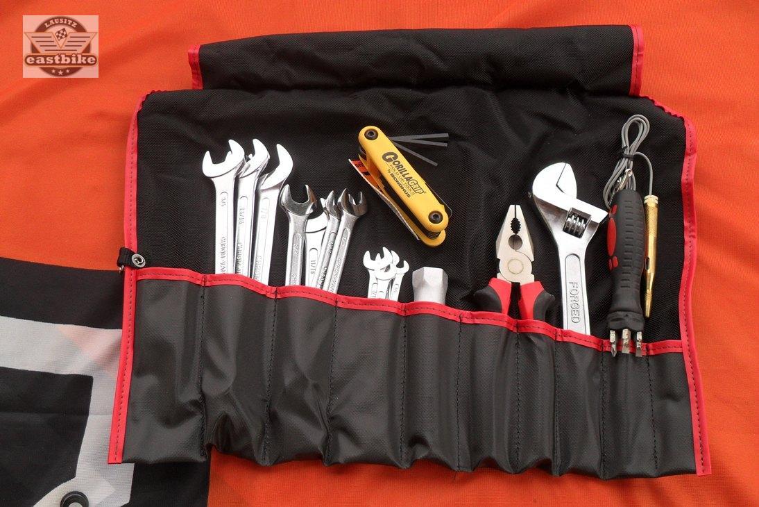 werkzeug harley zoll werkzeugrolle bordwerkzeug softail dyna sportster touring ebay. Black Bedroom Furniture Sets. Home Design Ideas