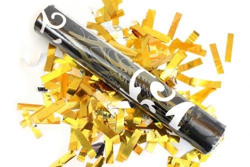 Konfett shooter party popper konfetti kanone lametta for Lametta kaufen