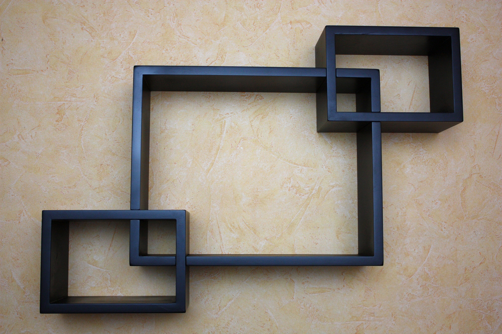 wandregal w rfel cube design regal mdf lackiert ebay. Black Bedroom Furniture Sets. Home Design Ideas