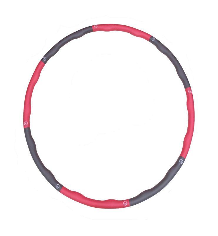 hula hoop reifen schaumstoff massage noppen sport fitness ger t 1 1 kg 100 cm 1. Black Bedroom Furniture Sets. Home Design Ideas