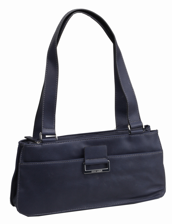 gerry weber td baguette tasche handtasche blau 4080002001. Black Bedroom Furniture Sets. Home Design Ideas