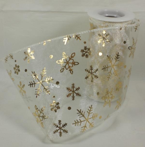 dekoband organza weihnachten tischband schleifenband 3m ebay. Black Bedroom Furniture Sets. Home Design Ideas
