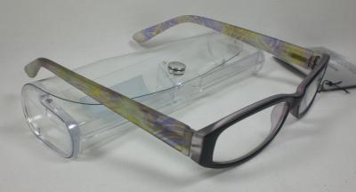 Moderne-Lesebrille-Flash-Lesehilfe-Kunststoff-unisex