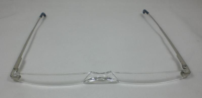 Praktische lesebrille 1 0 lesehilfe metall mit etui sehr for Spiegelschrank sehr schmal