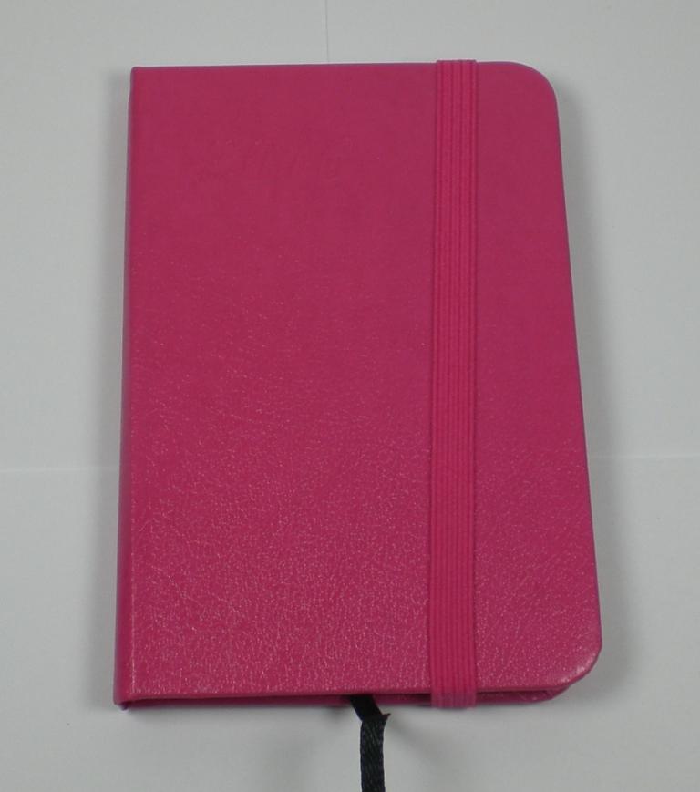 taschenkalender 2016 terminplaner mit gummiclip pink 7. Black Bedroom Furniture Sets. Home Design Ideas