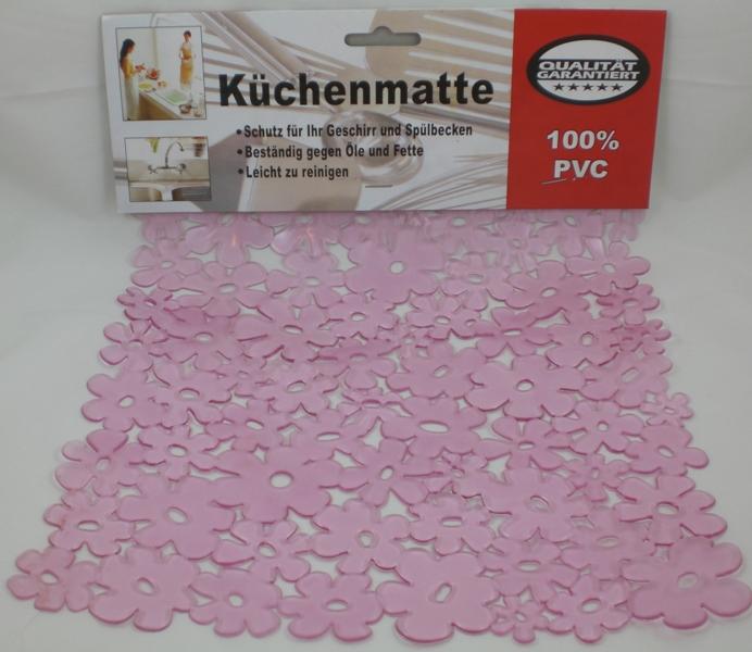 Spülbecken Küchenmatte Spülbeckeneinlage 26 x 32cm pink  ~ Spülbecken Ebay
