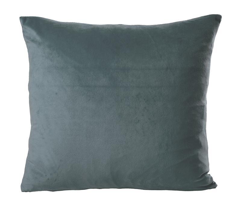 kissenh lle zierkissen uni samt kissenbezug deko kissen ca 40x40 50x50 60x60 cm ebay. Black Bedroom Furniture Sets. Home Design Ideas