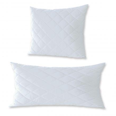 kopfkissen microfaser karostepp ca 40x80 o 80x80 cm antiallergisch bettw sche ebay. Black Bedroom Furniture Sets. Home Design Ideas