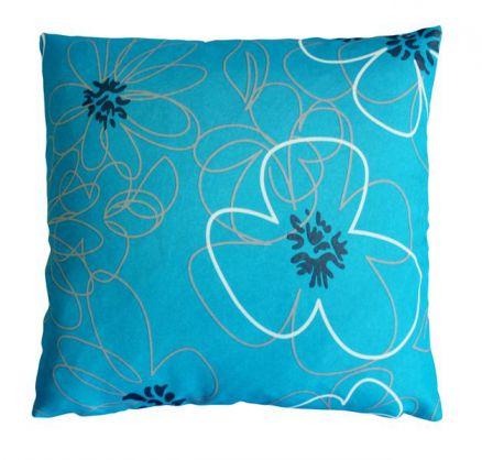 kissenh lle whitney blumenmuster kissenbezug flower power kissen 40x40 50x50 cm ebay. Black Bedroom Furniture Sets. Home Design Ideas