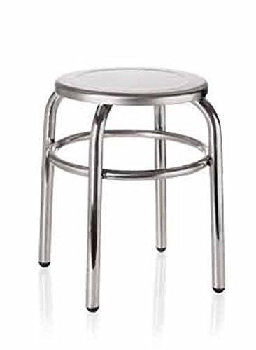 badhocker hocker bad oder k che edelstahl 30 cm h he 40 cm 2 wahl ebay. Black Bedroom Furniture Sets. Home Design Ideas