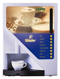 Tchibo coffea c vollautomat kaffeemaschine festwasser for Tchibo vollautomat