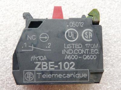 Telemecanique ZBE102 Hilfsschalterblock, 1ö, Schraubanschluß