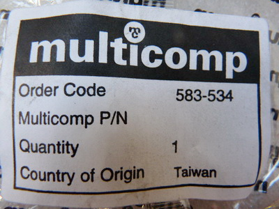 Multicomp Stecker 583-534