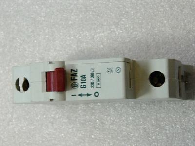 Klöckner Moeller FAZ G10A 1-polig  Leistungsschutzschalter