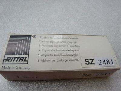 Rittal  SZ2481 Adapter für Steckverbindungsschottwände VPE = 5 Stück