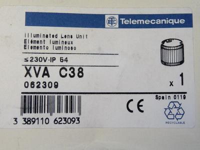 Telemecanique XVA C38 Linseneinsatz gelb