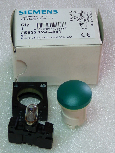 Siemens 3SB3212-6AA40 Leuchtmelder
