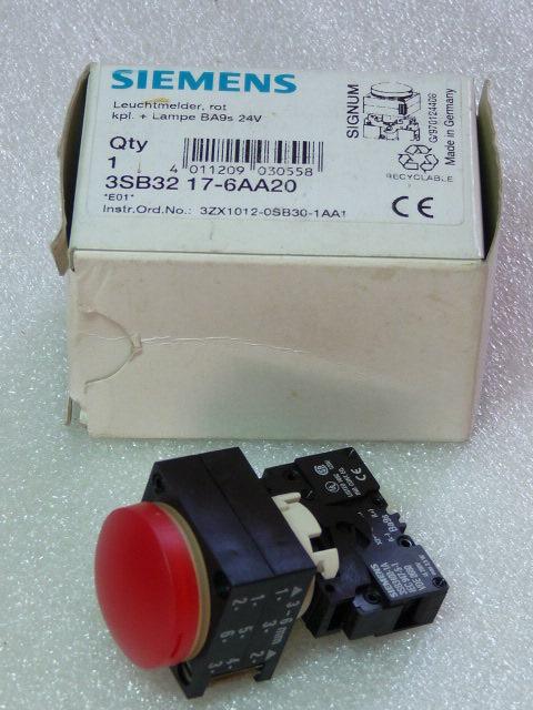 Siemens 3SB3217-6AA20 Leuchtmelder