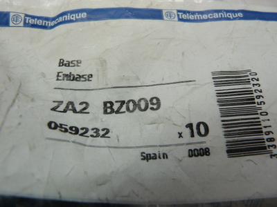 Telemecanique ZA2 BZ009 Einbauhalterung VPE = 10 Stück