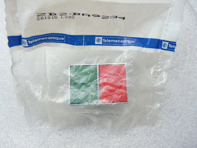 Telemecanique ZB2 BA9234 061015 Drucktaster rot-grün